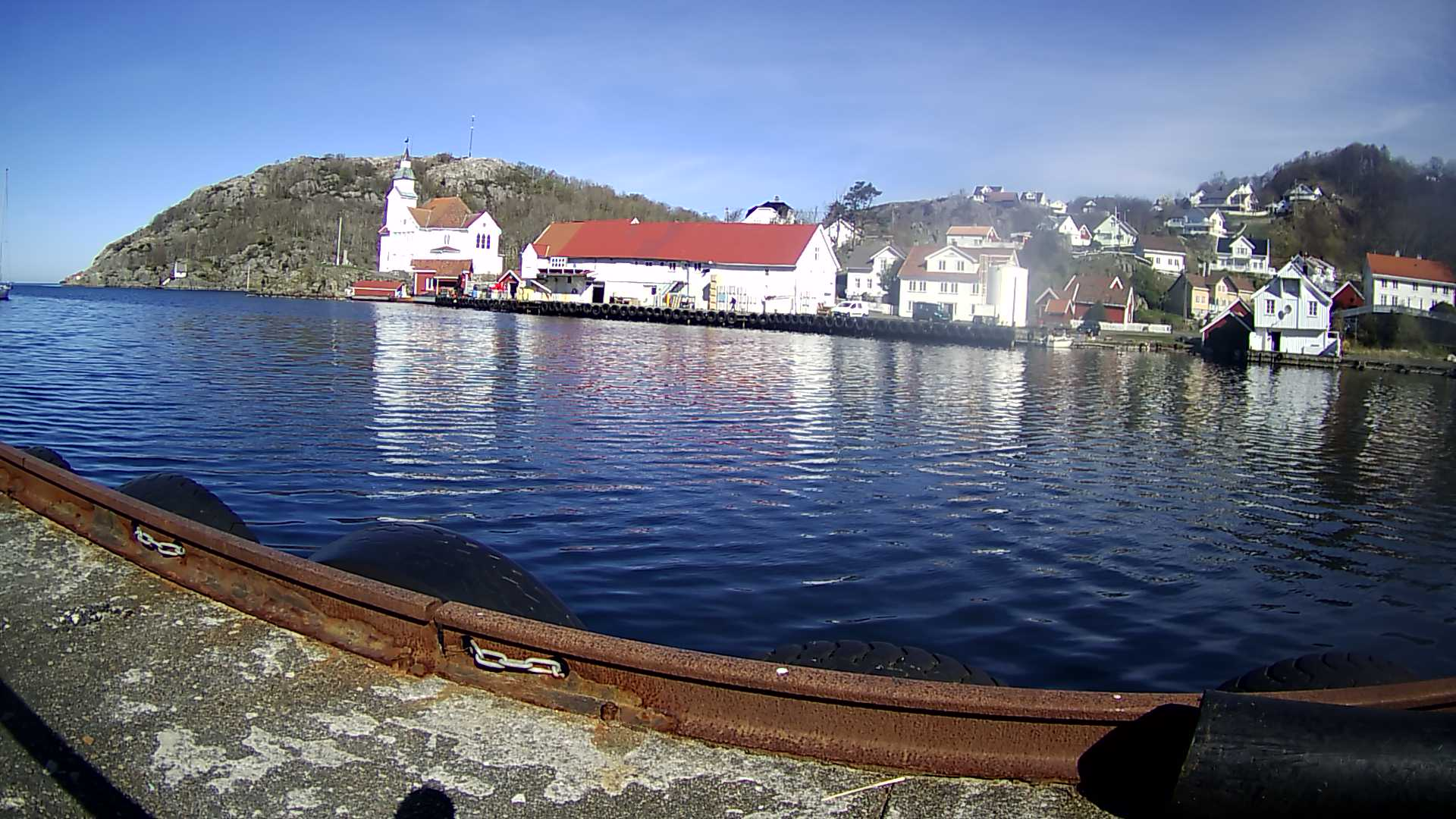 Webcam Kirkehavn, Flekkefjord, Vest-Agder, Norwegen